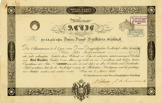 k. k. priv. erste Donau-Dampf-Schiffahrtsgesellschaft