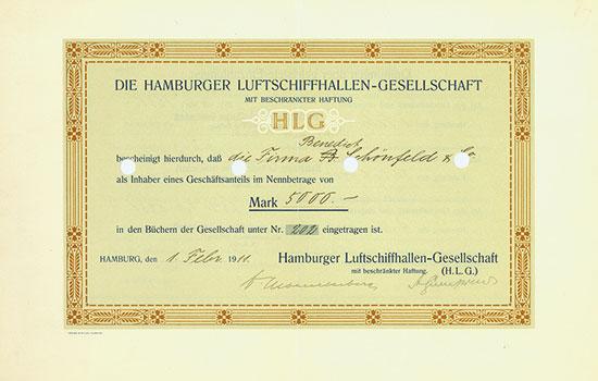 Hamburger Luftschiffhallen-Gesellschaft mbH