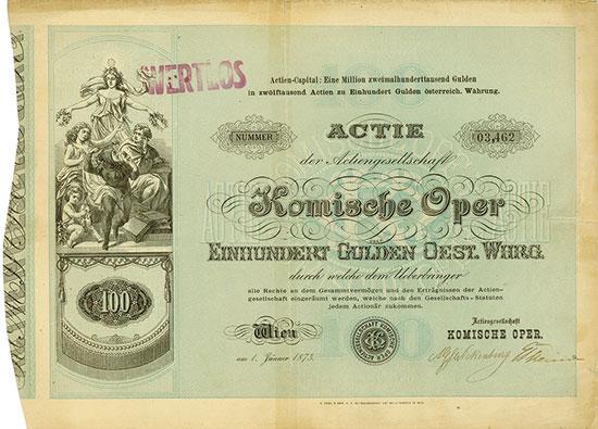 Actiengesellschaft Komische Oper