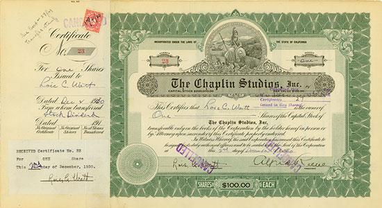 Chaplin Studios, Inc.