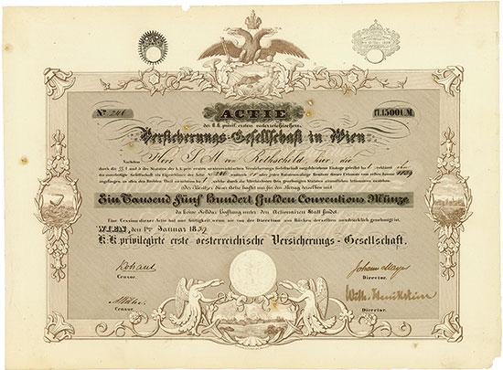 K.-K. privilegirte erste österreichische Versicherungs-Gesellschaft
