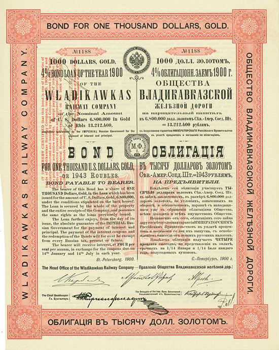 Wladikawkas Eisenbahn-Gesellschaft