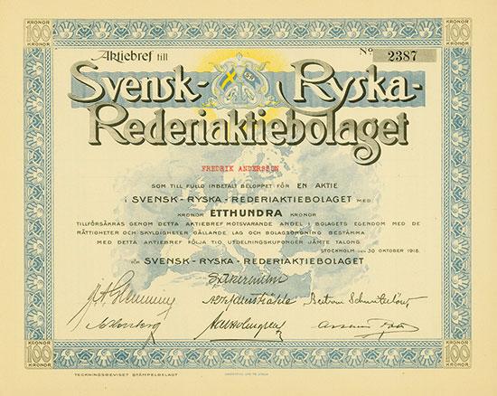 Svensk-Ryska-Rederiaktiebolaget