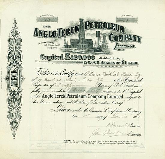 Anglo-Terek Petroleum Company Limited