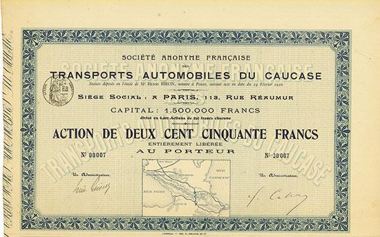 Société Anonyme Française des Transports Automobiles du Caucase