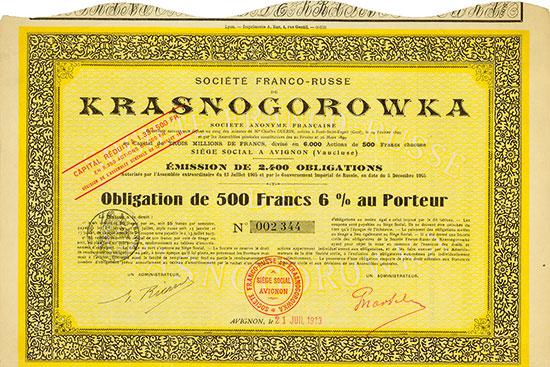Société Franco-Russe de Krasnogorowka
