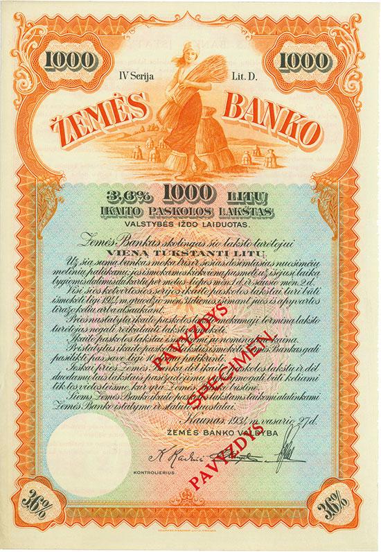 Zemés Banko (Land Bank)