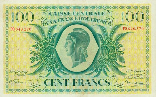 French Equatorial Africa - Caisse Centrale de la France d'Outre-Mer - Pick 18