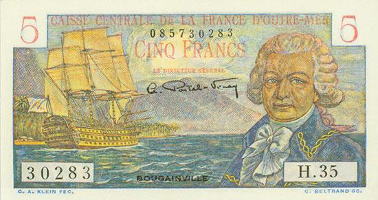 French Equatorial Africa - Caisse Centrale de la France d'Outre-Mer - Pick 20B