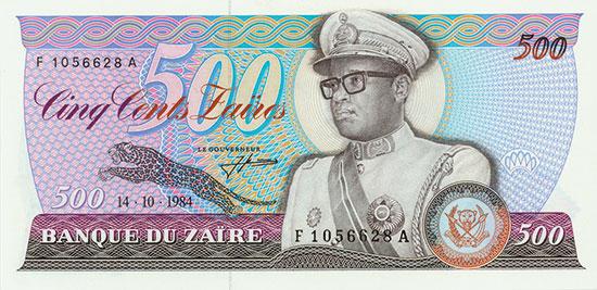 Zaire - Banque du Zaire - Pick 30a - Linzmayer B115