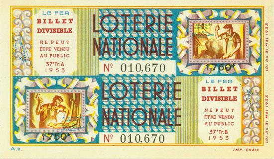 Lotterielose [176 Stück]