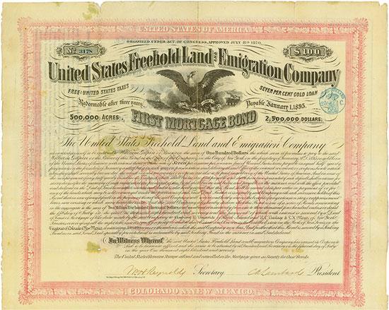 United States Freehold Land and Emigration Company