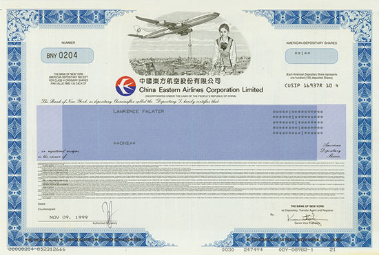 China Eastern Airlines Corporation, Limited
