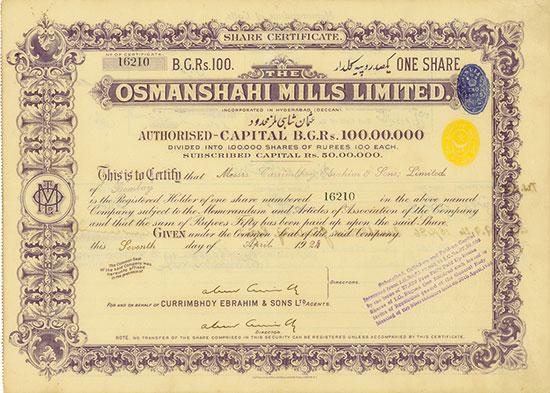 Osmanshahi Mills Limited