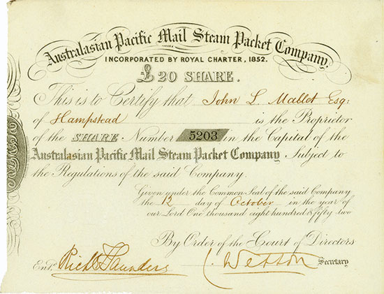 Australasian Pacific Mail Steam Packet Company