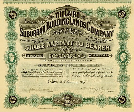 Cairo Suburban Building Lands Company