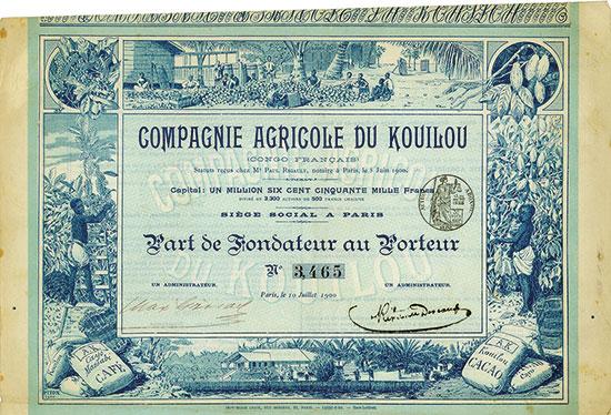 Compagnie Agricole du Kouilou