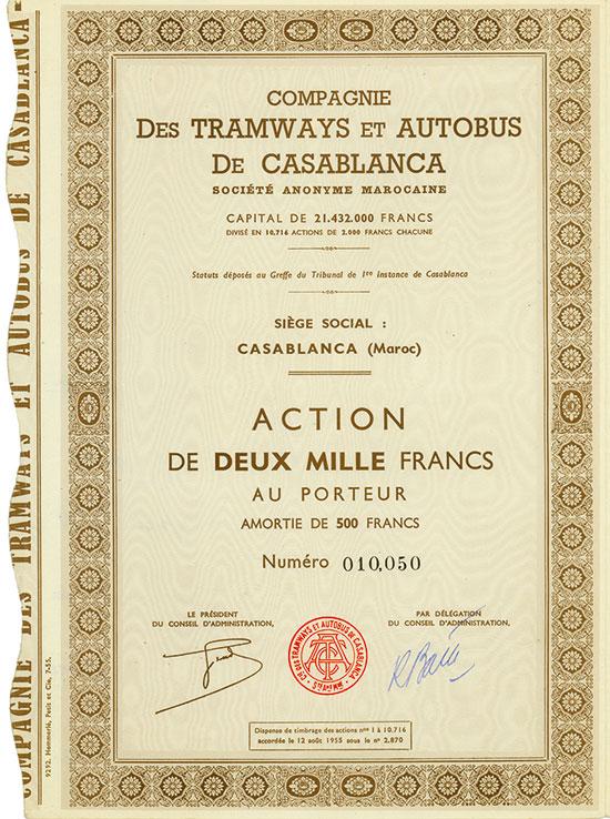 Compagnie des Tramways et Autobus de Casablanca