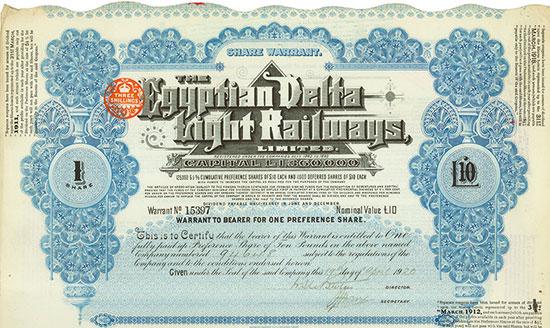 Egyptian Delta Light Railways Limited