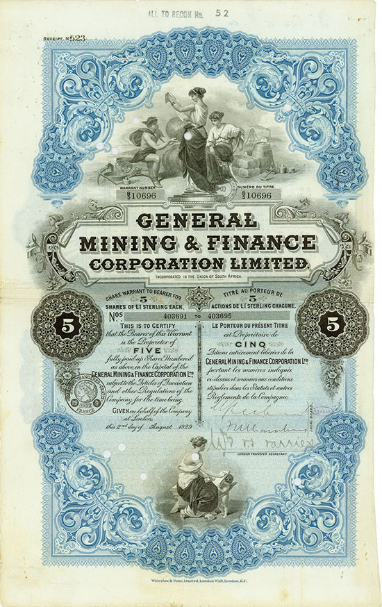 General Mining & Finance Corporation Limited