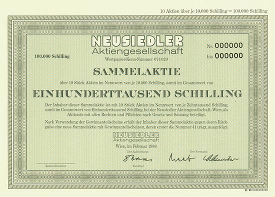 Neusiedler AG