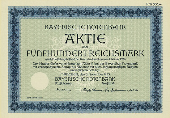 Bayerische Notenbank