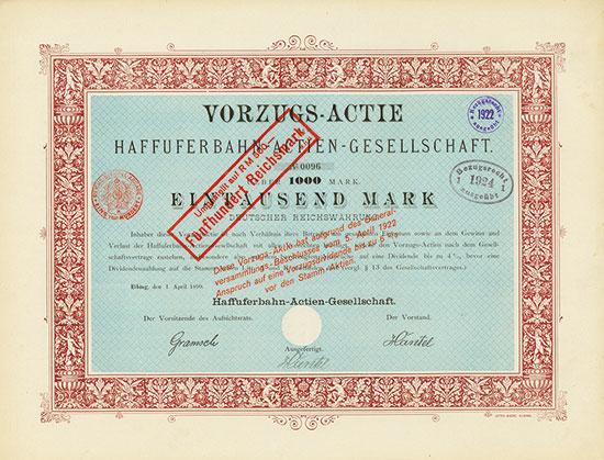 Haffuferbahn-AG