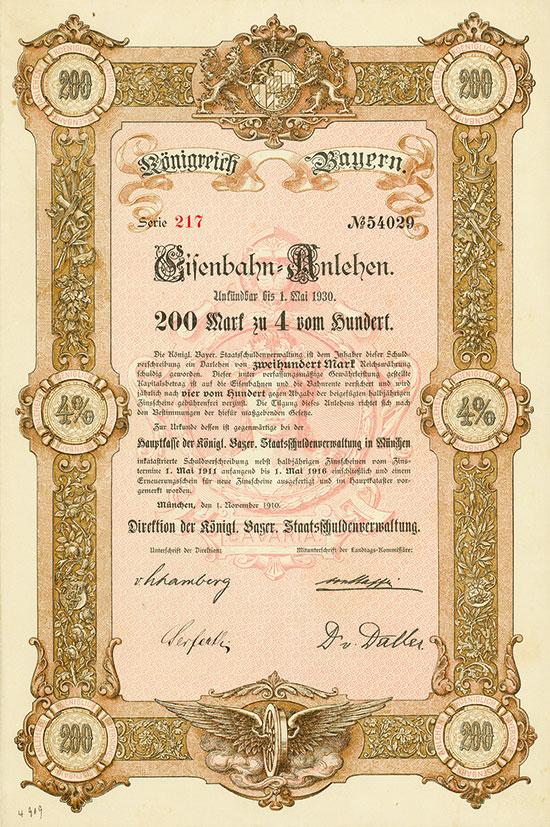 Königreich Bayern (Eisenbahn-Anlehen)