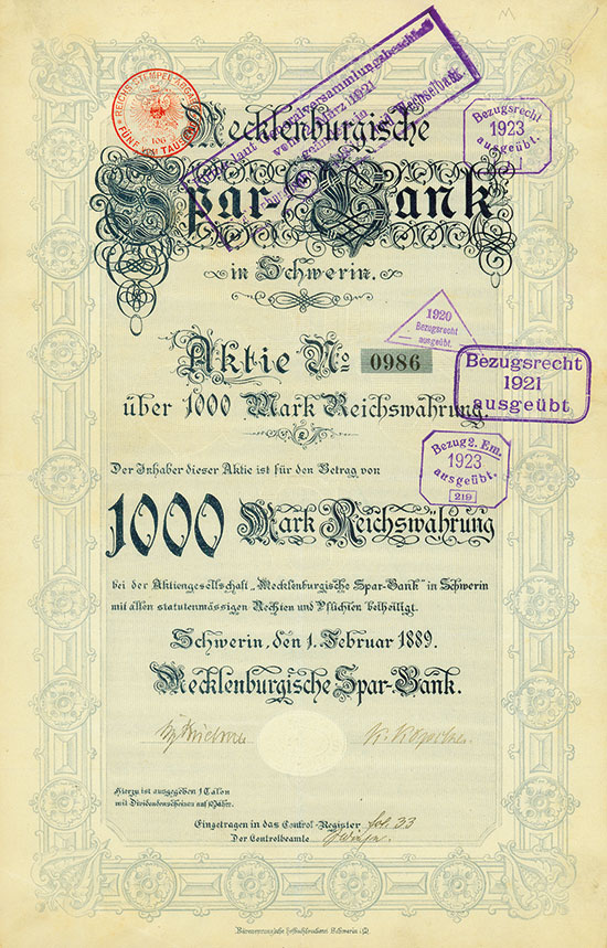 Mecklenburgische Spar-Bank