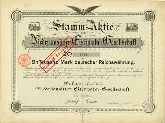 Niederlausitzer Eisenbahn-Gesellschaft