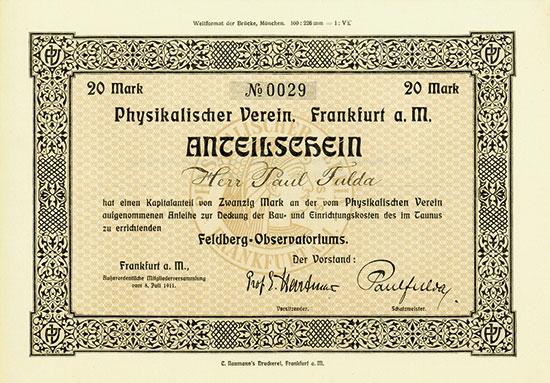 Physikalischer Verein
