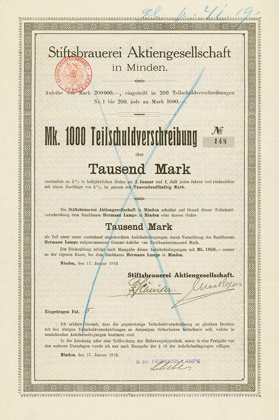 Stiftsbrauerei AG