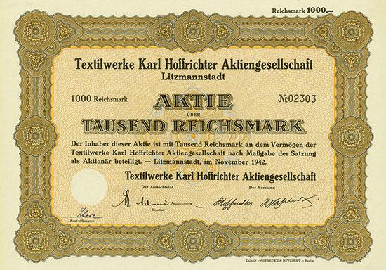 Textilwerke Karl Hoffrichter AG