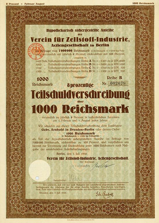 Verein für Zellstoff-Industrie AG