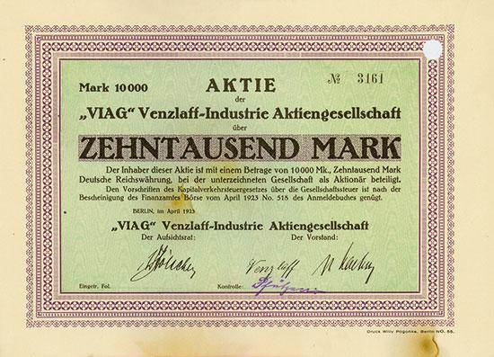 VIAG Venzlaff-Industrie AG