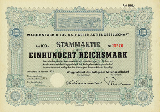 Waggonfabrik Jos. Rathgeber AG