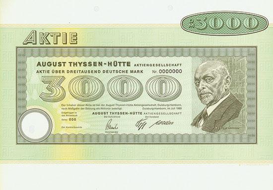 August Thyssen-Hütte AG