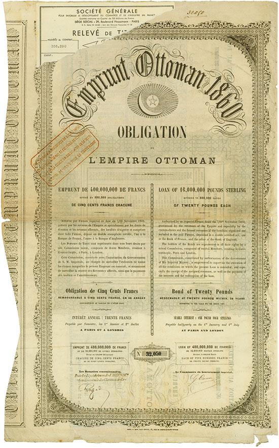 Emprunt Ottoman 1860