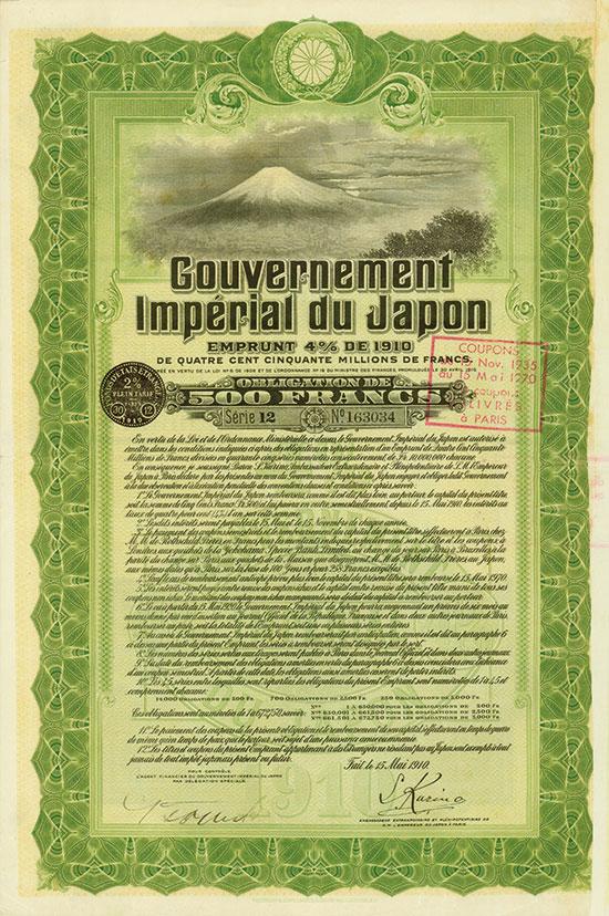 Gouvernement Impérial du Japon