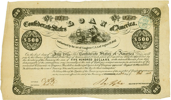 Confederate States of America (Ball 35, Criswell 77)