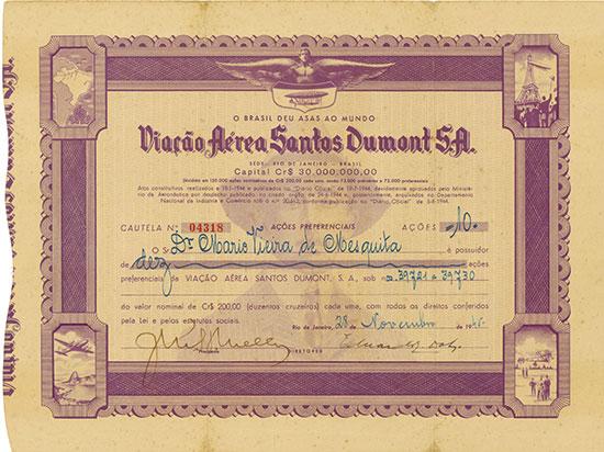 Viação Aérea Santos Dumont S. A.