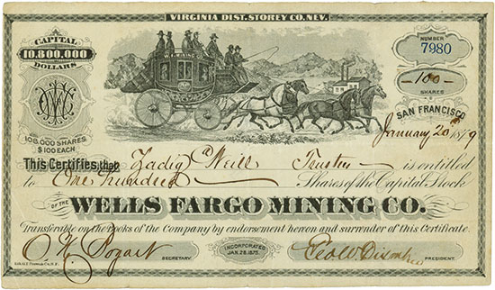 Wells Fargo Mining Co.