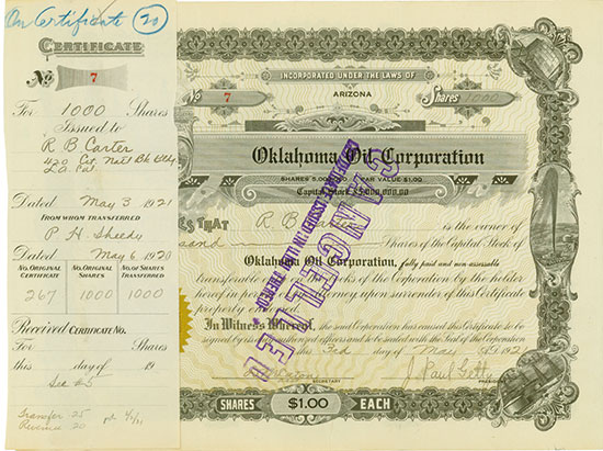 Oklahoma Oil Corporation