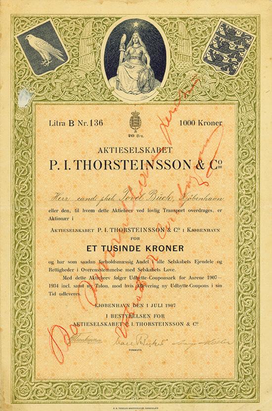 Aktieselskabet P. I. Thorsteinsson & Co.