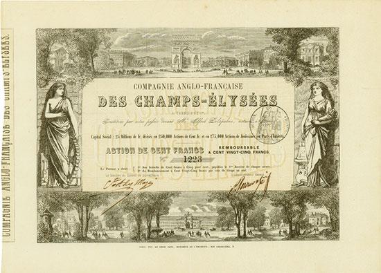 Compagnie Anglo-Francaise des Champs-Élysées