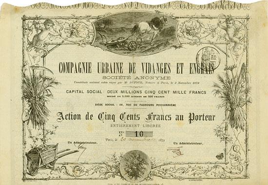 Compagnie Urbaine de Vidanges et Engrais