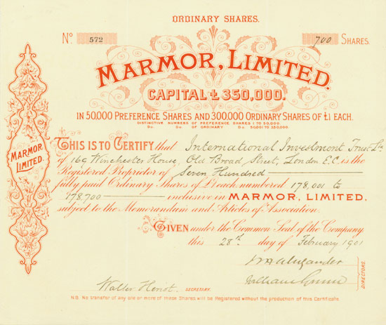 Marmor, Limited
