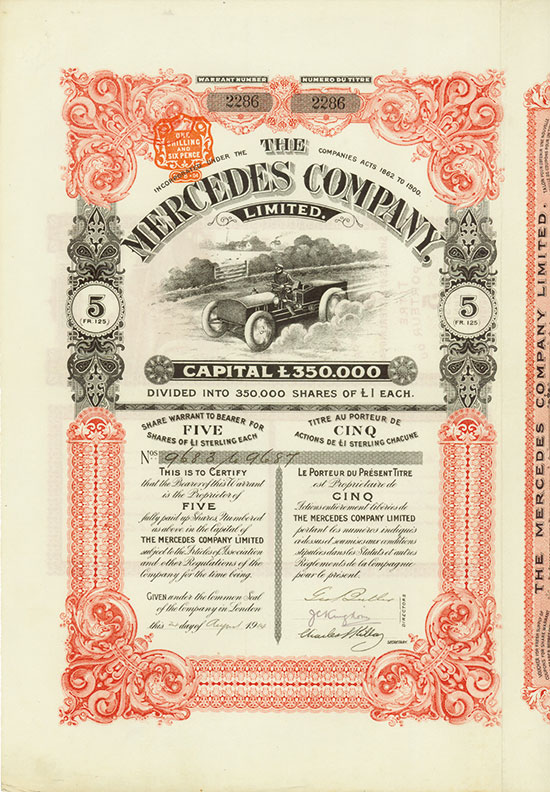 Mercedes Company, Limited