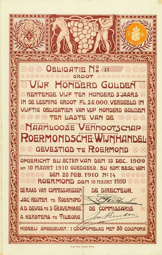 Naamlooze Vennootschap Roermondsche Wijnhandel