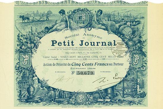 Société Anonyme du Petit Journal